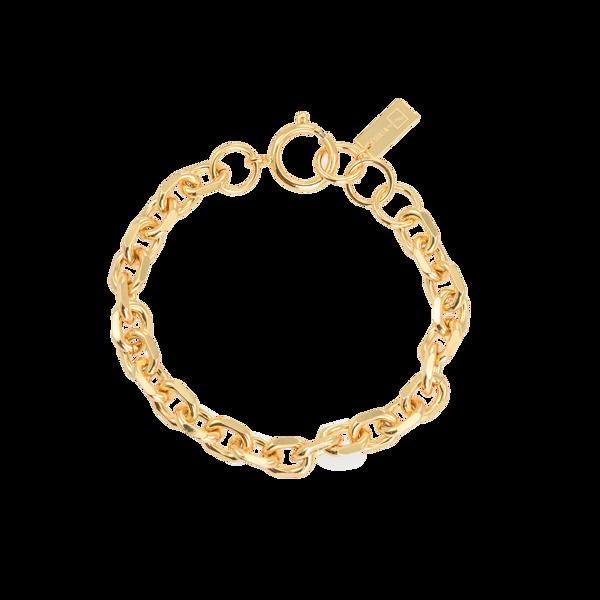 Bilde av Bon Dep Emilia Angeled Chain Bracelet 17 Cm