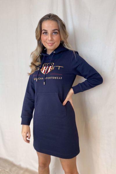 Bilde av Gant Shield Hoodie  Dress