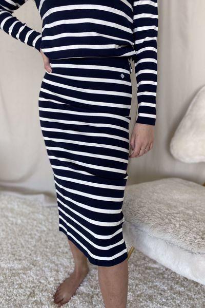 Bilde av Gant Breton Jersey Skirt