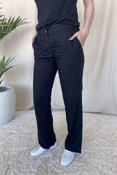 Bilde av Aurora Classic Linen Pants
