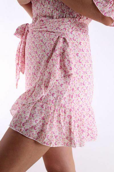 Bilde av Neo Noir Bella Butterfly Skirt